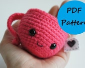PDF Crochet Amigurumi Pattern - Teeny the Teacup