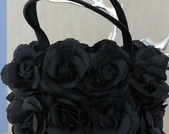 Black Roses Handbag