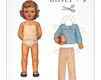 AFTER SCHOOL SHIRT and Pants Sewing Pattern, Oliver + S, Sizes 5-12 yrs