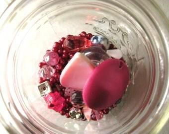 Bead Mixed Lot - Pinks