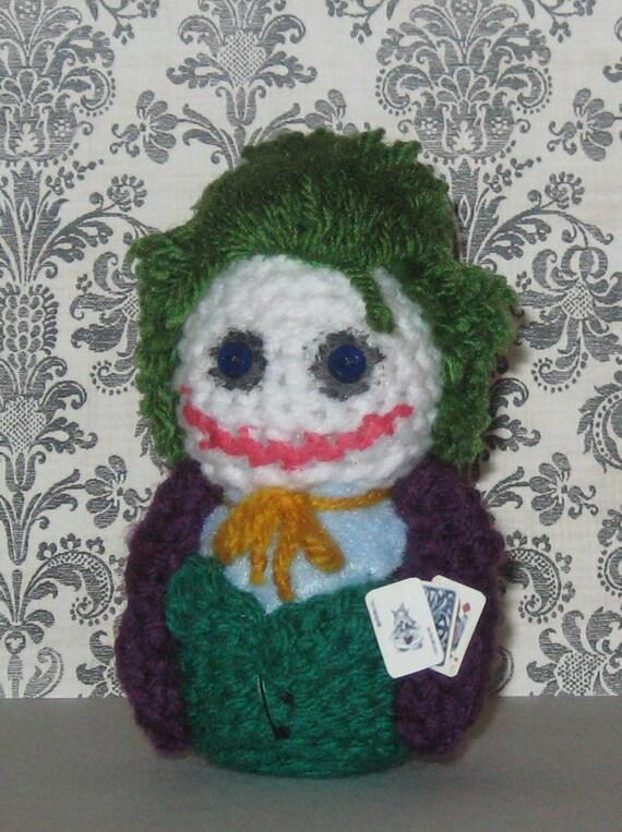 Joker Amigurumi Doll