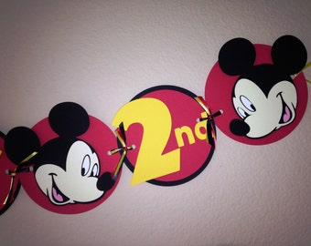 Mickey Mouse Party Banner