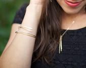 Simple Stack Bracelets