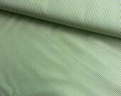 Japanese Fabric Cotton Yuwa - Stripes Green - a yard