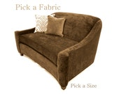 Mid Century style Designer Sofa fabric color options