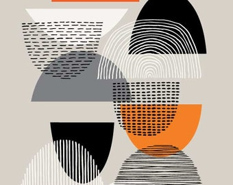 Simple Shapes No3, open edition giclee print