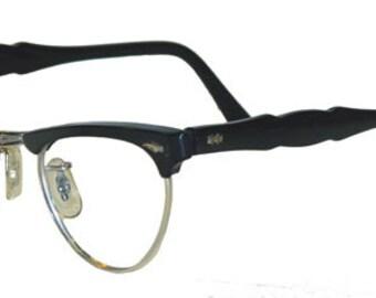 Vintage 1950s Silver Cat Eye Eyeglass Frames Never Used