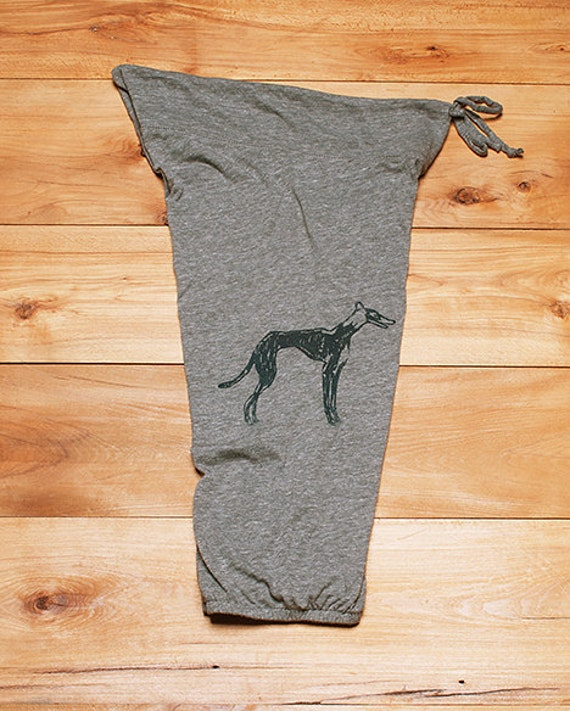 supa fly Greyhound Pants, Lounge Pants, Gift for a Dog Lover, S,M,L,XL