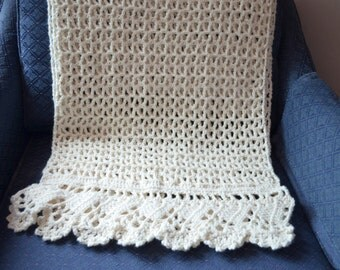 Crochet Bridal Shawl, Crochet Wedding shawl, Shawl with shimmer and sparkle,  Prom Shawl, formal shawl