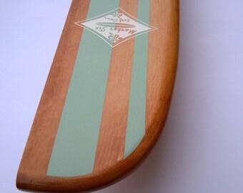 """28"""" Surfboard Shelf Classic Stripe Longboard"""