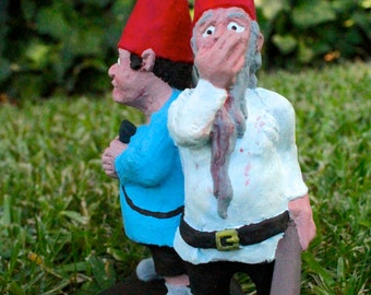 Zombie Gnomes: Best Friends