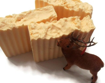 Orange Cedarwood Soap - Shea Butter Soap - VEGAN