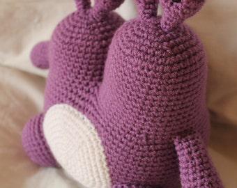 Monster MaryAnn - Amigurumi Plush Crochet PATTERN ONLY (PDF)