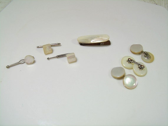 how to clean antique mother of pearl buttons