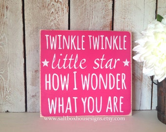 Twinkle Star Sign Small
