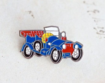 Rolls Royce Badge - Iconic Car in Blue Enamel