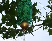 Lucky Buddha Beer Bottle Wind Chime