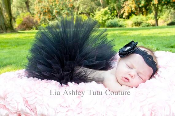 Black Onyx Luxe Tutu Couture