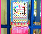 PAINT Party, ART Party Customized Printable Door - Table SIGN - Bella Bella Studios