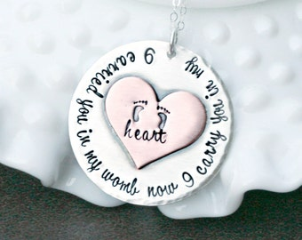Infant Loss Necklace - Memorial Necklace - Pregnancy Loss Necklace - Bereavement Necklace - Angel Baby Necklace