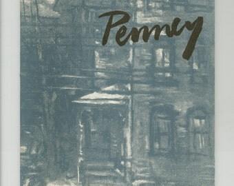 James Penney A Retrospective Exhibition Ashcan School, 1955 Art Catalog Hamilton College Professor, Vintage Book