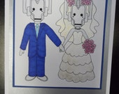 Dr Who Wedding Card