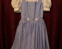Travel Over the Rainbow in this Dorothy costume
