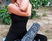 SALE Funky yoga mat bag, leopard print yoga bag