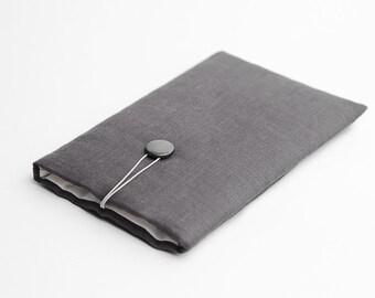iPad Pro 9.7 sleeve, dark grey, available with a pocket