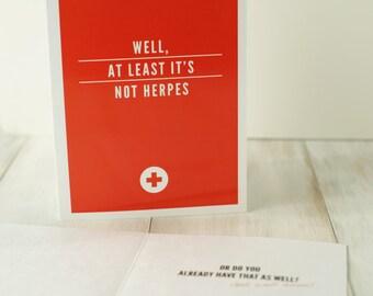 Aca-Akward // Get Well Card
