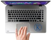 Laptop Decals - Small Decal - Name Wall Decal - Laptop Monograms - Personalized Monogram Decals - Multimedia - Water Bottle Decals