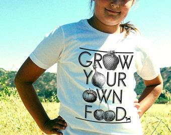 Grow Your Own Food Kids' T-Shirt
