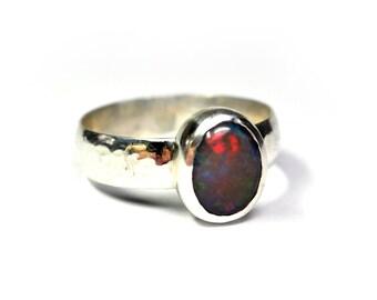 Artisan Welo Opal Ring - Size 9