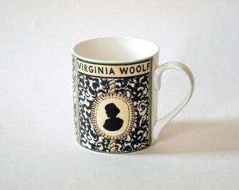 Virginia Woolf Mug Cup - literary Gift, Bloomsbury Group Gift, Writer Gift
