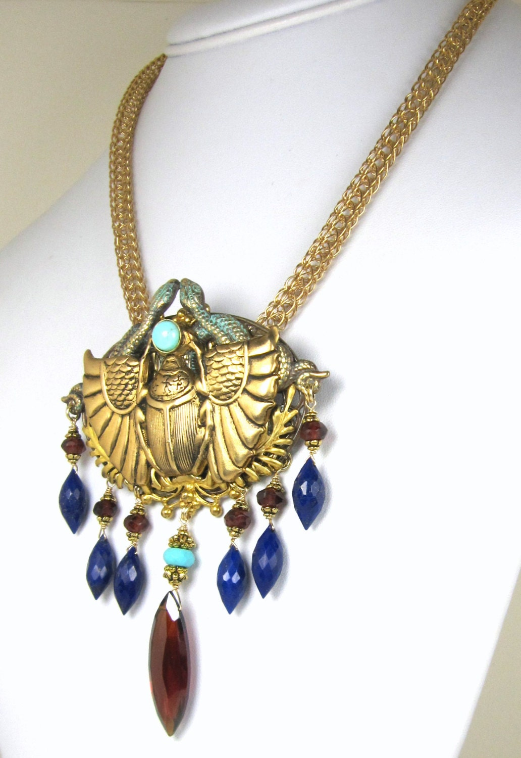 egyptian scarab necklace - photo #13