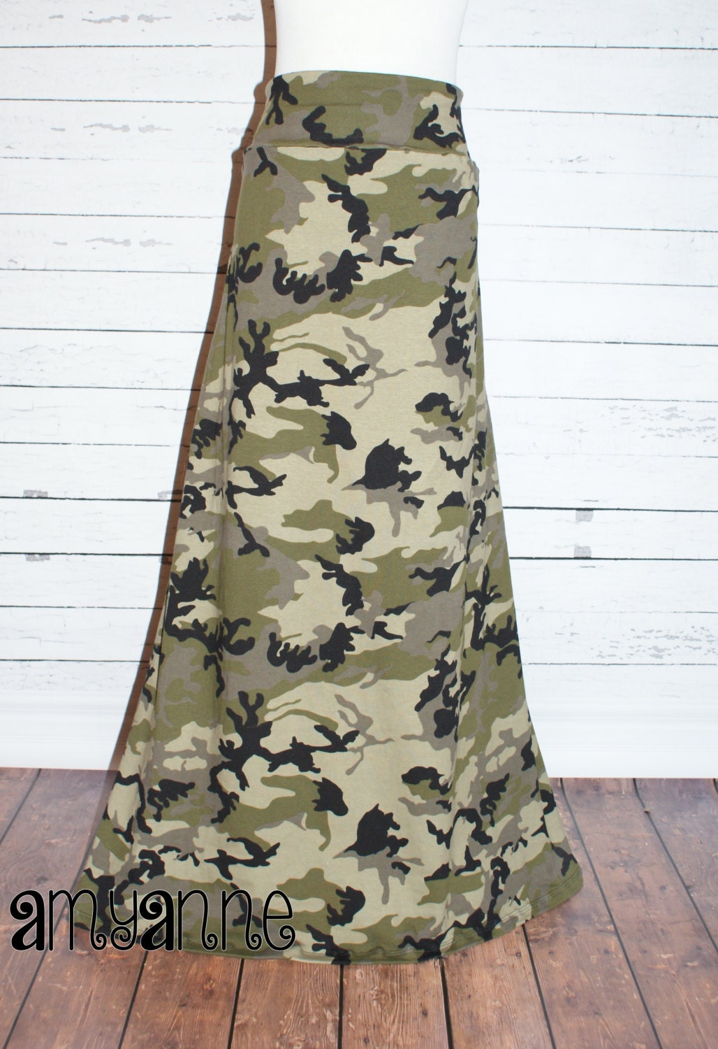camo maxi skirt jersey knit womens and plus size camouflage