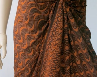 Brown Beach Sarong, Cover up