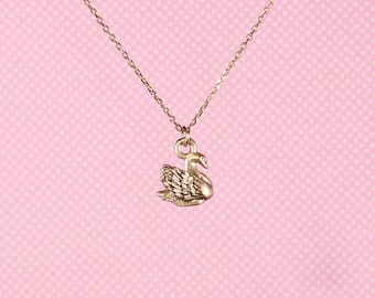 "Swan 18"" Charm Necklace"