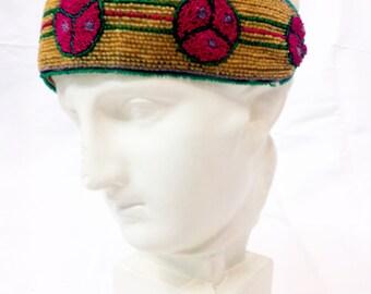 20s headband // 1920s headband // art deco headband // edwardian headband / 20s headpiece // 1920s headpiece // rare // antique headpiece
