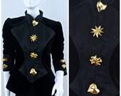 Vintage CRISTIAN LACROIX Iconic Emblem Jacket