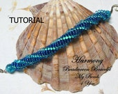 Beading Tutorial, Beaded Bracelet Pattern,Seed Beads,Spiral Bracelet Tutorial,Seed Bead Pattern,Beading Tutorials and Patterns,MyBeads4You