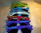 Personalized Sunglasses bachelorette,