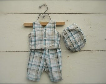 baby boy outfit :Pants & Hat,  Baby boy suit, birthday outfit for boys , Birthday suit for boys 0-3 months