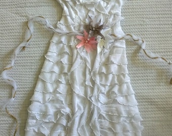 Baby Girl Baptism Dress, Baby Girl Christening Dress, Blessing Dress, Easter Dress, White Dress, Flower Girl Dress, Birthday Dress