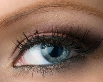 """Taupe with Pink / Purple Shimmer Eyeshadow - """"Silhouette"""" - Vegan Mineral Eyeshadow Net Wt 2g Mineral Makeup Eye Color Pigment"""