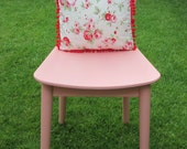 Ikea Cath Kidston Rosali Cotton Cushion 30cmx30xcm - Shabby chic pompom Cushion