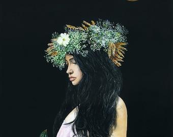 "Serenity. Limited edition giclée print, 12 x 16"" (30.5 x 40.6 cm) 2/20"