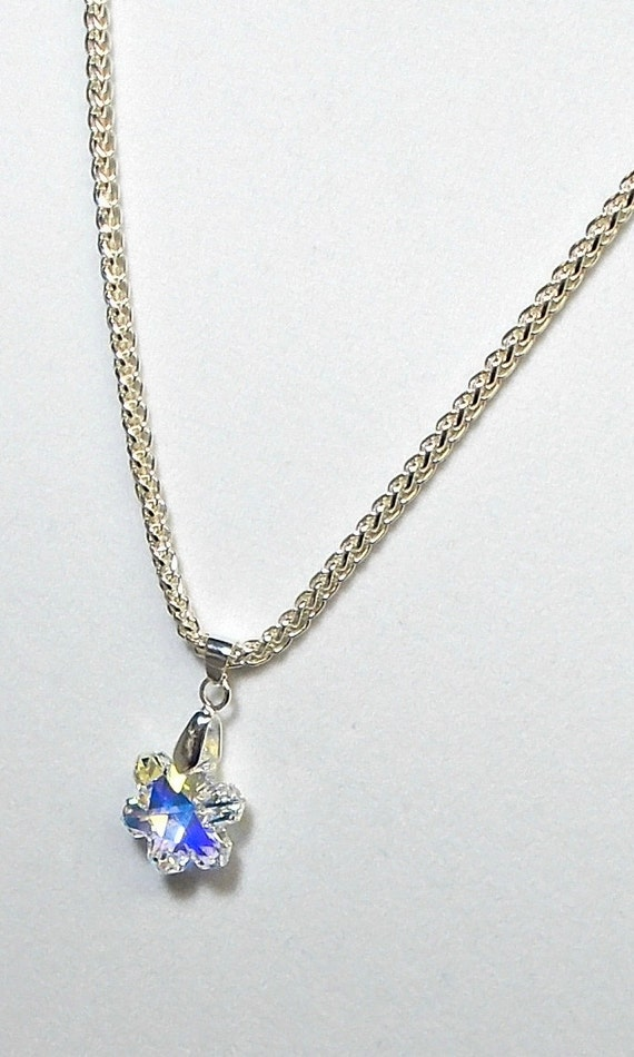 swarovski snowflake earrings swarovski snowflake pendant necklace snowflake 986