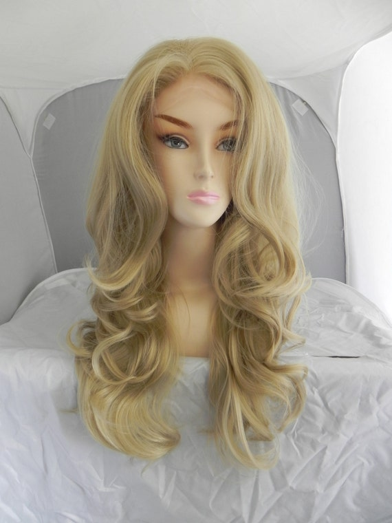 Realistic Blonde Wig 95