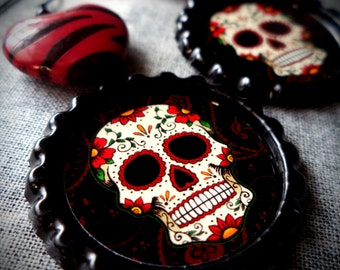 Fiesta Skull earrings